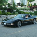 Hill, Dennis and Mary , 2003 Black Z06